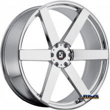 KOKO KUTURE WHEELS - SARDINIA-6 - chrome