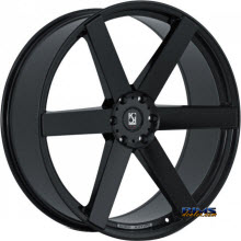 KOKO KUTURE WHEELS - SARDINIA-6 - black gloss