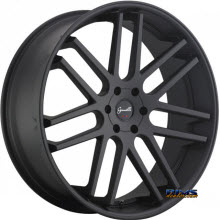 GIANELLE WHEELS - YEREVAN - black flat