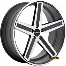 Giovanna Wheels - DRAMUNO-5 - machined w/ black