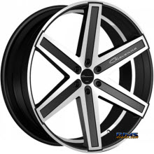 Giovanna Wheels - DRAMUNO-6 - machined w/ black