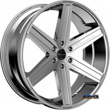 Giovanna Wheels - DRAMUNO-6 - chrome