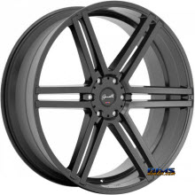 GIANELLE WHEELS - BOLOGNA - black flat