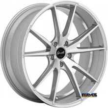 GIANELLE WHEELS - DAVALU - machined w/ silver