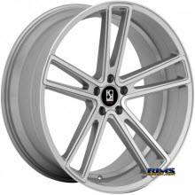 KOKO KUTURE WHEELS - MASSA-5 - machined w/ silver