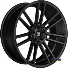 KOKO KUTURE WHEELS - MASSA-7 - black flat
