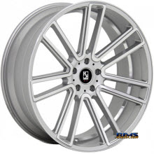 KOKO KUTURE WHEELS - MASSA-7 - machined w/ silver
