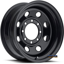 Vision Wheel - Soft 8 85 - black flat