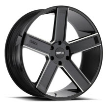 KMC - KM702 - Black Milled