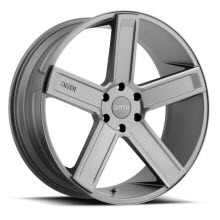 KMC - KM702 (Milled) - Grey Solid