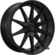 ROSSO WHEELS - LEGACY - black gloss