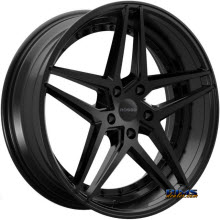 ROSSO WHEELS - REACTIV - black gloss