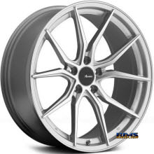 Advanti Racing - 80S Hybris - Machined W/ Silver