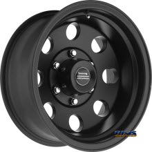AMERICAN RACING - AR172 Baja - SATIN BLACK
