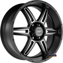 AMERICAN RACING - AR890 - Satin Black