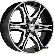 AMERICAN RACING - AR893 Mainline - Black Gloss w/ Machined