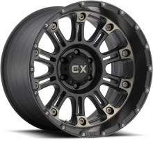 KMC XD Off-Road - XD829 - Satin - Black Flat w/ Machined