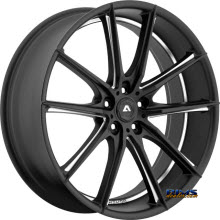 Adventus Wheels - AVX-10 - Black Milled