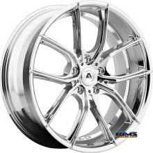 Adventus Wheels - AVX-6 - Chrome