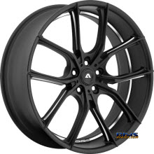 Adventus Wheels - AVX-6 - Black Milled