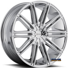 CAVALLO WHEELS - CLV-10 - chrome