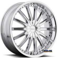 CAVALLO WHEELS - CLV-6 - chrome