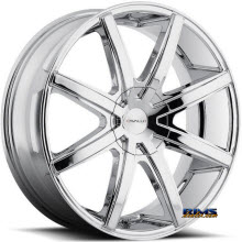 CAVALLO WHEELS - CLV-8 - chrome