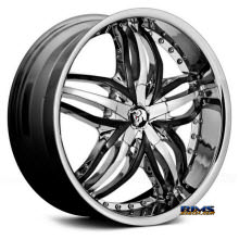 DIABLO WHEELS - ANGEL - Chrome
