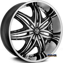 DIABLO WHEELS - MORPHEUS  - Chrome