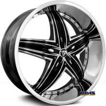 DIABLO WHEELS - RAGE - Chrome