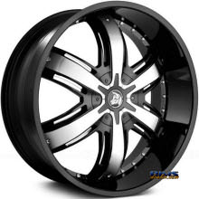 DIABLO WHEELS - RAZOR - Black Gloss