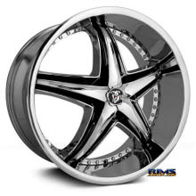 DIABLO WHEELS - REFLECTION - Chrome