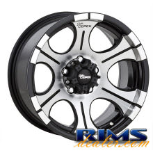 DICK CEPEK - DC-2 (5-Lug) - machined w/ black