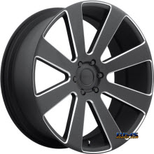 DUB - S187 - 8 BALL - Black Flat