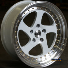 ESR WHEELS - SR02 - White Flat