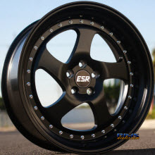 ESR WHEELS - SR02 - SATIN BLACK