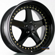 ESR WHEELS - SR04 - Black Gloss