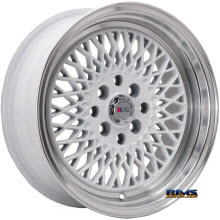 F1R Wheels - F01 - Machined w/ White