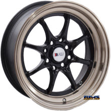 F1R Wheels - F03 - Black Gloss