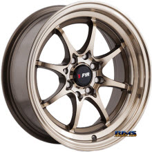 F1R Wheels - F03 - Bronze Gloss