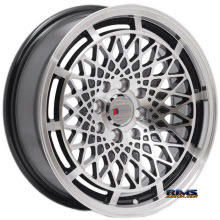 F1R Wheels - F06 - Machined w/ Black