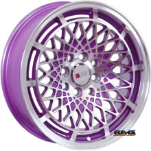 F1R Wheels - F06 - Purple