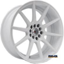 F1R Wheels - F17 - White Flat