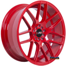F1R Wheels - F18 - Red Gloss