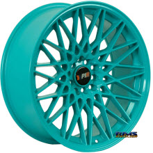F1R Wheels - F23 - Blue Solid