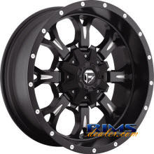 Fuel Off-Road - KRANK - black flat