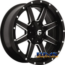 Fuel Off-Road - MAVERICK - MILLED - black flat