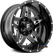 Fuel Off-Road - Full Blown 2 - Machined w/ Black