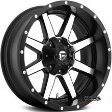 Fuel Off-Road - Maverick - Machined w/ Black