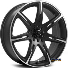 ICW Racing - 210 - KAMIKAZE - black flat w/ machined